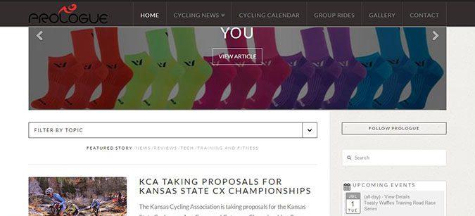 Prologue Cycling News Filter